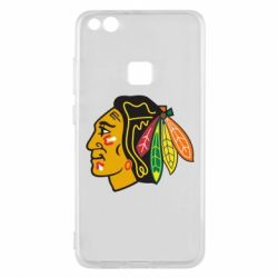 Чехол для Huawei P10 Lite Chicago Black Hawks - FatLine