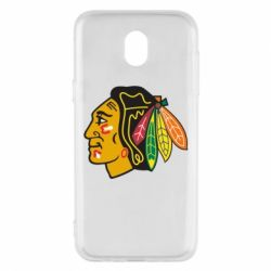 Чехол для Samsung J5 2017 Chicago Black Hawks - FatLine