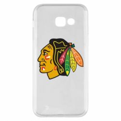 Чехол для Samsung A5 2017 Chicago Black Hawks - FatLine
