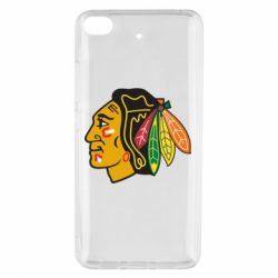 Чехол для Xiaomi Mi 5s Chicago Black Hawks - FatLine