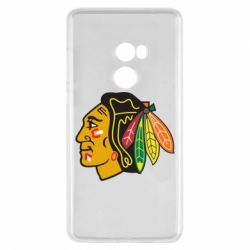 Чехол для Xiaomi Mi Mix 2 Chicago Black Hawks - FatLine