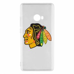 Чехол для Xiaomi Mi Note 2 Chicago Black Hawks - FatLine