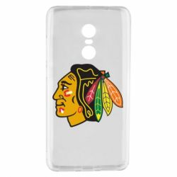 Чехол для Xiaomi Redmi Note 4 Chicago Black Hawks - FatLine