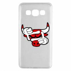 Чехол для Samsung A3 2015 Chicago Bulls бык