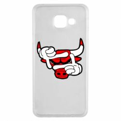 Чехол для Samsung A3 2016 Chicago Bulls бык
