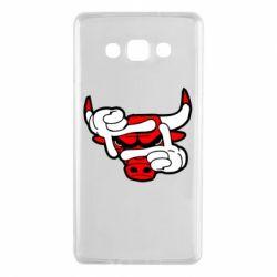 Чехол для Samsung A7 2015 Chicago Bulls бык