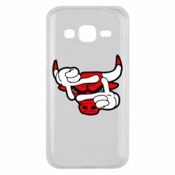 Чехол для Samsung J2 2015 Chicago Bulls бык