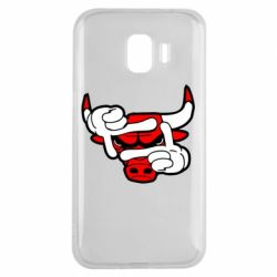 Чехол для Samsung J2 2018 Chicago Bulls бык