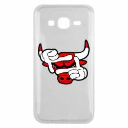 Чехол для Samsung J5 2015 Chicago Bulls бык