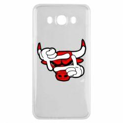 Чехол для Samsung J7 2016 Chicago Bulls бык