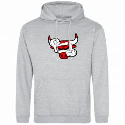 Толстовка Chicago Bulls бык - FatLine