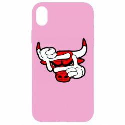 Чехол для iPhone XR Chicago Bulls бык