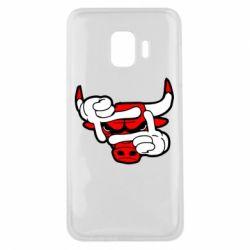 Чехол для Samsung J2 Core Chicago Bulls бык