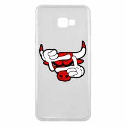 Чехол для Samsung J4 Plus 2018 Chicago Bulls бык