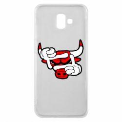 Чехол для Samsung J6 Plus 2018 Chicago Bulls бык