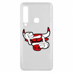 Чехол для Samsung A9 2018 Chicago Bulls бык