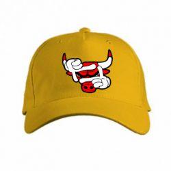 кепка Chicago Bulls бык - FatLine