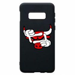 Чехол для Samsung S10e Chicago Bulls бык