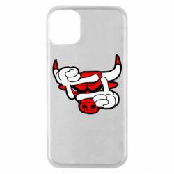 Чехол для iPhone 11 Pro Chicago Bulls бык