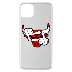 Чехол для iPhone 11 Pro Max Chicago Bulls бык