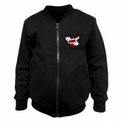 Детский бомбер Chicago Bulls бык