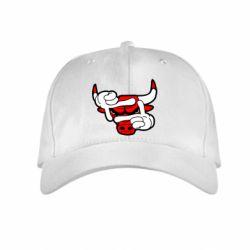 Детская кепка Chicago Bulls бык - FatLine