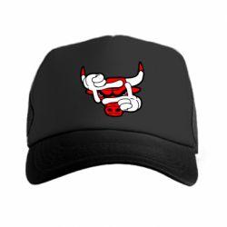 Кепка-тракер Chicago Bulls бык - FatLine