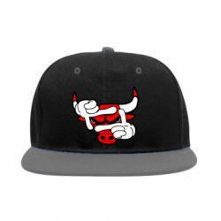 Снепбек Chicago Bulls бык - FatLine