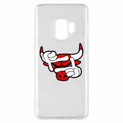 Чехол для Samsung S9 Chicago Bulls бык