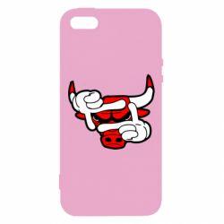Чехол для iPhone5/5S/SE Chicago Bulls бык