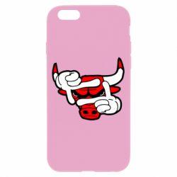 Чехол для iPhone 6/6S Chicago Bulls бык