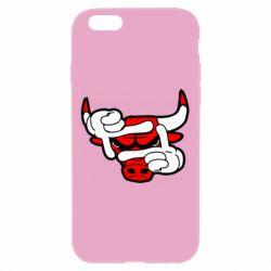 Чехол для iPhone 6 Plus/6S Plus Chicago Bulls бык