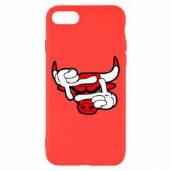 Чехол для iPhone 7 Chicago Bulls бык