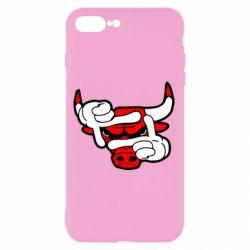 Чехол для iPhone 7 Plus Chicago Bulls бык