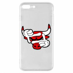 Чехол для iPhone 8 Plus Chicago Bulls бык