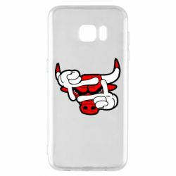 Чехол для Samsung S7 EDGE Chicago Bulls бык