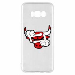 Чехол для Samsung S8 Chicago Bulls бык