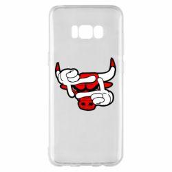 Чехол для Samsung S8+ Chicago Bulls бык
