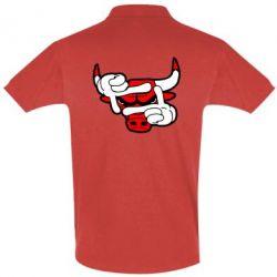 Футболка Поло Chicago Bulls бык - FatLine