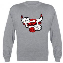 Реглан Chicago Bulls бык - FatLine