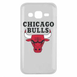 Чехол для Samsung J2 2015 Chicago Bulls Classic