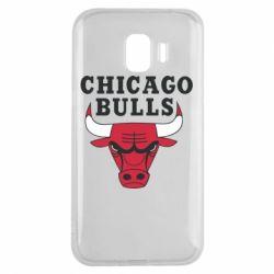 Чехол для Samsung J2 2018 Chicago Bulls Classic