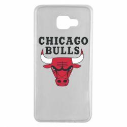 Чехол для Samsung A7 2016 Chicago Bulls Classic