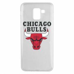 Чехол для Samsung J6 Chicago Bulls Classic