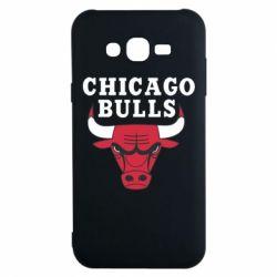 Чехол для Samsung J7 2015 Chicago Bulls Classic