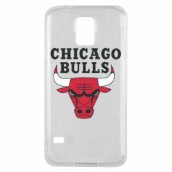 Чехол для Samsung S5 Chicago Bulls Classic