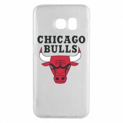 Чехол для Samsung S6 EDGE Chicago Bulls Classic