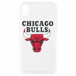 Чехол для iPhone XR Chicago Bulls Classic