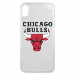 Чехол для iPhone Xs Max Chicago Bulls Classic