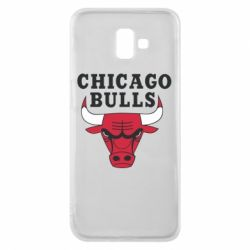 Чехол для Samsung J6 Plus 2018 Chicago Bulls Classic